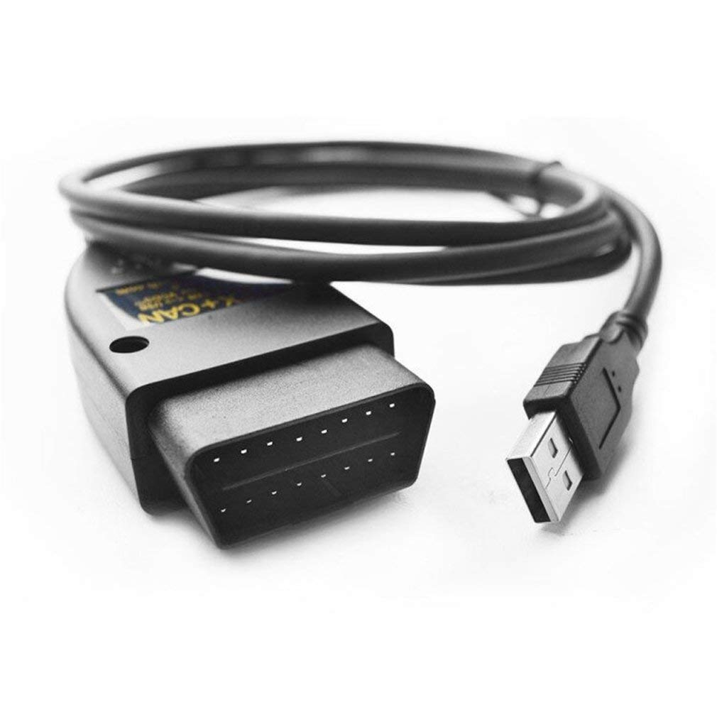 VAGCOM 17.1.3 HEX ingl/és CAN Cable USB para diagn/óstico de fallas de la interfaz USB