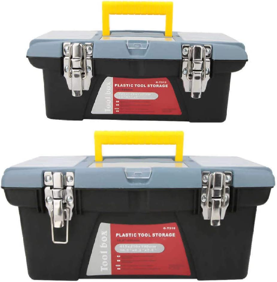 SDFJKO Toolbox Portable Toolbox Hardware Storage Case Repair Tool Container Carrying Handle,G,T313 G-t316