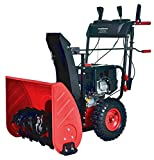 PowerSmart PSS2240C 24 in. 212cc 2-Stage Electric Start Gas Snow Blower (with Free Mug)
