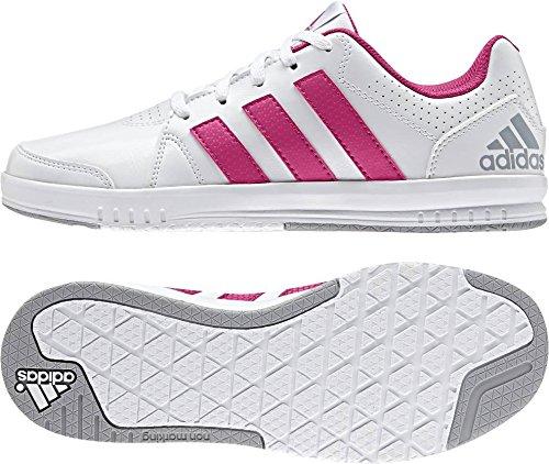 adidas LK Trainer 7 K, Zapatillas de Gimnasia Unisex Bebé Blanco (Ftwbla / Eqtros / Grimed)