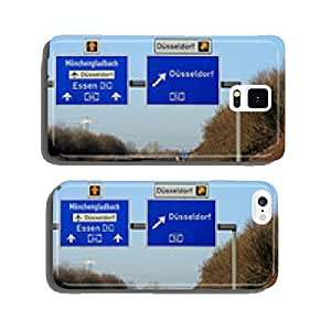Dusseldorf highway sign cell phone cover case iPhone5