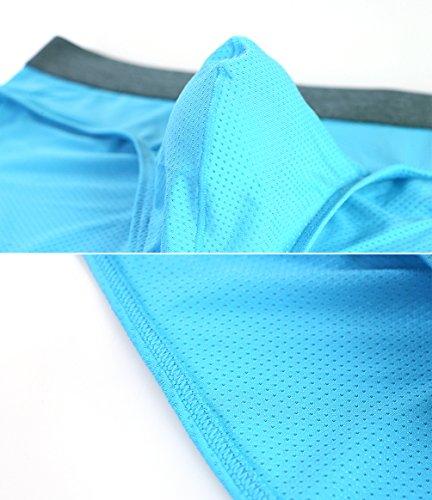 Tyhengta Men's Underwear Body Mesh Briefs 1 Pack Blue Small by Tyhengta (Image #1)