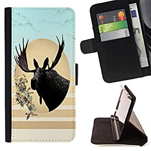 - COW - - Premium PU Leather Wallet Case with Card Slots, Cash Compartment and Detachable Wrist Strap FOR Apple iPhone 6 6S Plus 5.5 King case