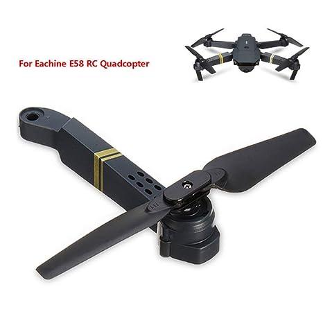 Garciasia Profesional Fácil de Instalar E58 WiFi FPV RC Quadcopter ...