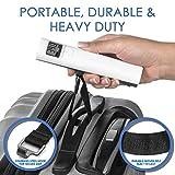 Ellessi Luggage Scale. Battery Free Digital Luggage