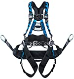 Miller by Honeywell AAT-QCBCUB Aircore Tower Climbing Harness with Aluminum Hardware Quick Connect Chest and Leg Straps