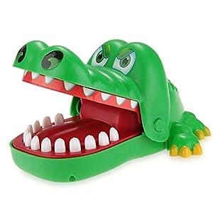 GEEDIAR Krokodil Biss Finger ziehen Zähne Spiel Kinderspiel Tolle Geschenke...