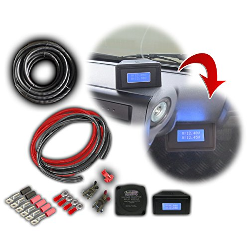 Dobinsons 4x4 140 Amp Dual Battery Wiring Kit With Lcd