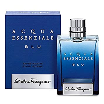 Salvatore Ferragamo Acqua Essenziale Blu Eau de Toilette Vaporizador 100 ml: Amazon.es: Belleza