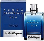 Salvatore Ferragamo Acqua Essenziale Blu Spray for Men, 3.4 Ounce