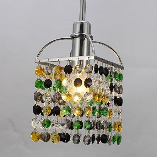 LightInTheBox Mini Alfa Strass Crystal Pendant One Light, Modern Home Ceiling Light Fixture Flush Mount, Pendant Light Chandeliers Lighting, Voltage=110-120V;Home - Lamp Crystal Chandelier Strass
