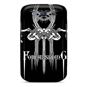 InesWeldon Samsung Galaxy S3 Durable Hard Cell-phone Case Unique Design Trendy Grave Band Pattern [fqy4958aNtC]