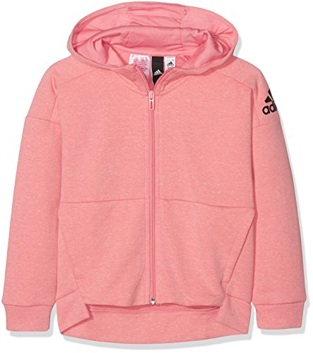 adidas Id Stadium Hoodie - Girls - Tactile Rose/Icey Pink/Black - Age 11-12 by adidas
