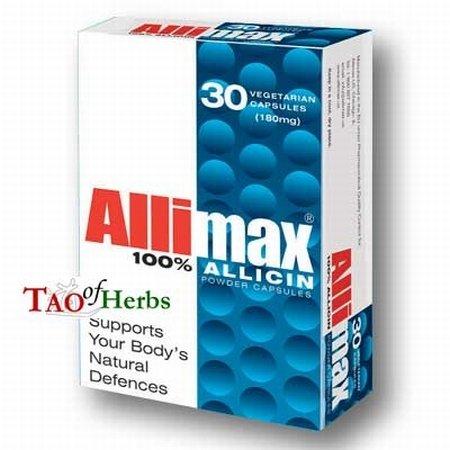 (Allimax Powder Capsules - 30 Capsules )