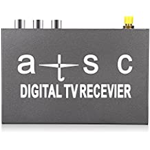 AUTOLOVER T858 Car HD/SD ATSC Mobile Digital TV Box Receiver High Speed Subminiature Size for United States, Canada, Mexico