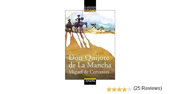 Don Quijote de La Mancha CLÁSICOS - Clásicos a Medida: Amazon.es ...