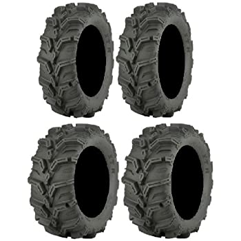 Full set of ITP Mud Lite XTR 27x9-14 and 27x11-14 ATV Tires (4)