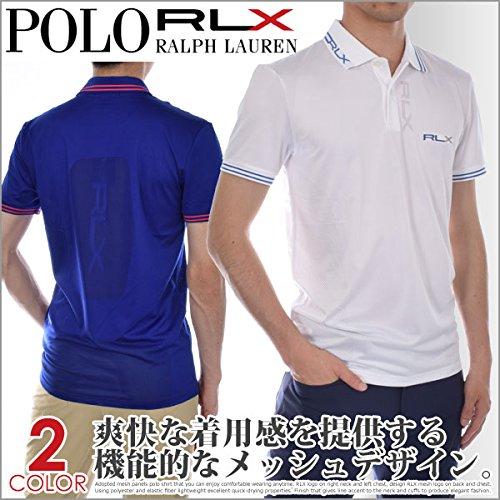 ポロゴルフ ラルフローレン RLX マイクロ ジャガード 半袖ポロシャツ