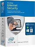 MCAFEE - Internet Security 2017 Licenza per 1 Dispositivo per 1 Anno - Licenza ESD (Electronic Software Distribution)