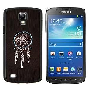 YiPhone /// Prima de resorte delgada de la cubierta del caso de Shell Armor - Colector ideal Muerte Cráneo indio Araña - Samsung Galaxy S4 Active i9295