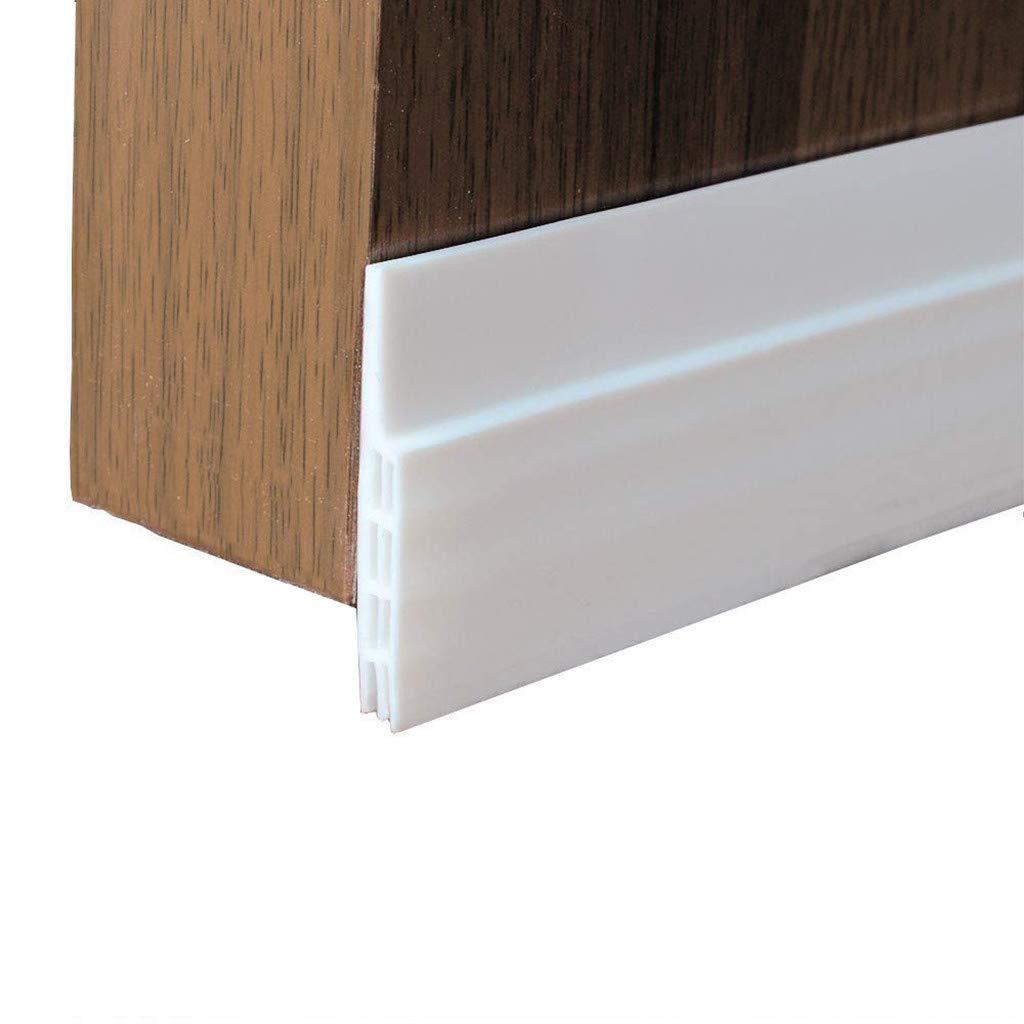 Door Draft Stopper Self Adhesive Under Door Sweep Weather Stripping Soundproofing Insulator Door Draft Stopper 2 x 39 inch (a)
