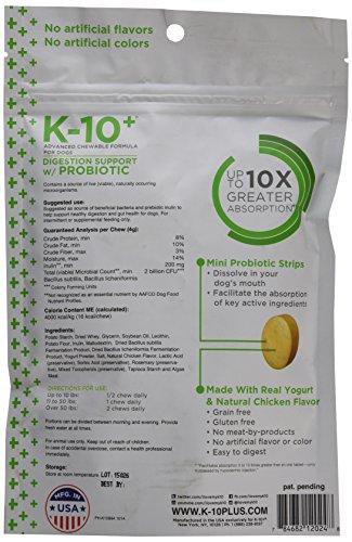 K 10 Digestion guidance thru Probiotic Probiotics