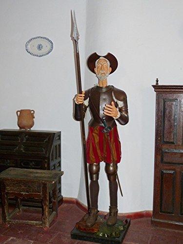 Home Comforts Canvas Print Don Quijote Don Quixote La Mancha Windmills Stretched Canvas 10 x 14