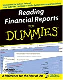 Reading Financial Reports for Dummies, Lita Epstein, 0764577336