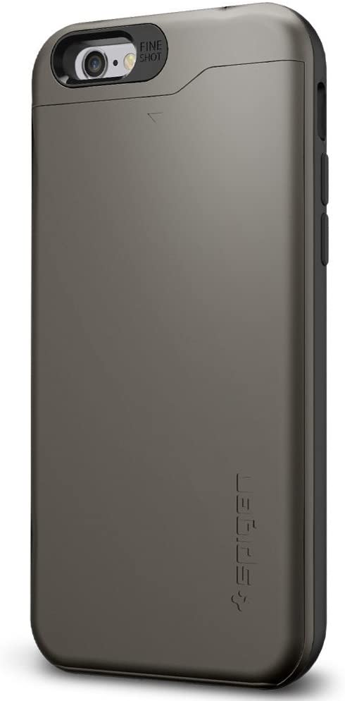 Spigen Slim Armor CS Designed for Apple iPhone 6s Case/Designed for iPhone 6 Case (2014) - CS Gunmetal