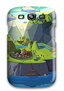 Premium Adventure Time Back Cover Snap On Case For Galaxy S3