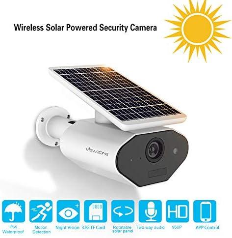 ViewZone Solar Powered Security Camera L4
