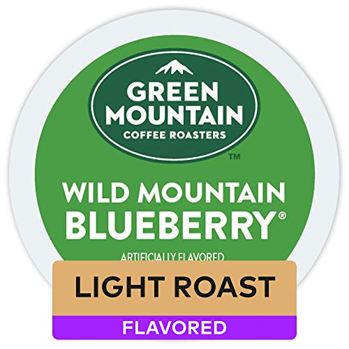 Green Mountain Coffee Roasters Wild Mountain Blueberry, Keurig Single-Serve K-Cup Pods, 72 Count (6 Boxes of 12 Pods)