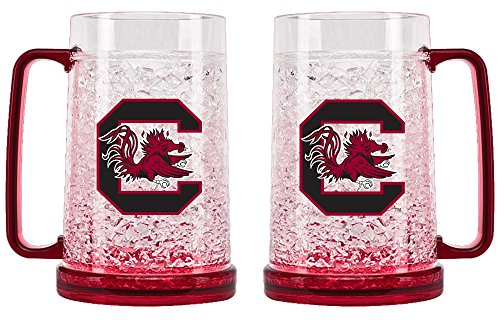 NCAA University of South Carolina Gamecocks 16oz Crystal Freezer Mug