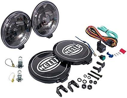 hella 005750991 500 series black magic driving lamp kit hella ff75 hella 500 driving lights diagram #5