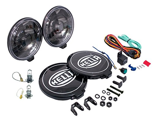 HELLA 005750991 500 Series Black Magic Driving Lamp Kit
