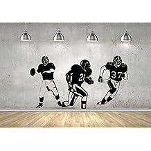 American Football Players Super Bowl NFL Art Decals Wall Stickers Mural Vinyl M0088