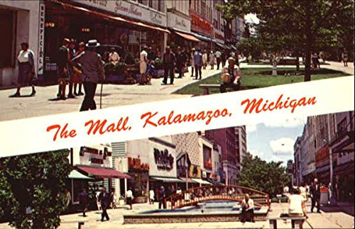 The Mall Kalamazoo, Michigan Original Vintage - Kalamazoo Malls