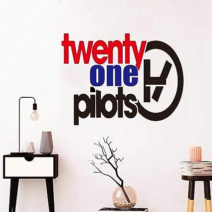 pegatinas de pared frases Nuevo diseño Twenty One Pilots ...