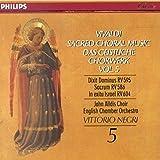 Sacred Choral Music Vol. 5: Dixit Dominus RV595, Sacrum RV 586, In exitu Israel RV 604, Introduzione al Dixit RV 635