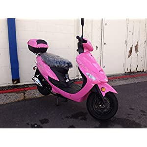 TaoTao ATM 50cc Sporty Scooter (Pink)