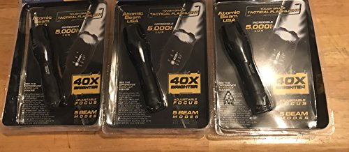 Atomic Beam USA Tough Grade Tactical Flashlight As Seen On Tv Most Watched