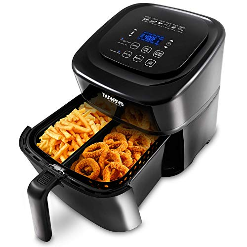 NuWave 37001 Air Fryer, 6 Quart basket, Black