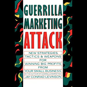 Guerrilla Marketing Attack Audiobook