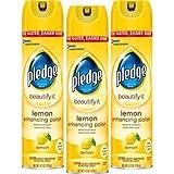 Pledge Lemon Enhancing Polish 9.7 oz, 3 ct (.3-Pack(3 ct))
