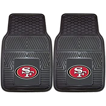 Amazon Com Nfl San Francisco 49ers Car Floor Mats Heavy