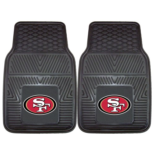 FANMATS NFL San Francisco 49ers Vinyl Heavy Duty Car Mat