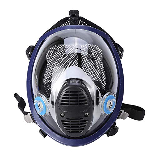 Phoenixfly99 Organic Vapor Full Face Respirator Safety Mask With Visor Protection For Paint, chemicals, polish (6800 Full face respirator+1 Pair 3# Filter) by Phoenixfly99 (Image #7)