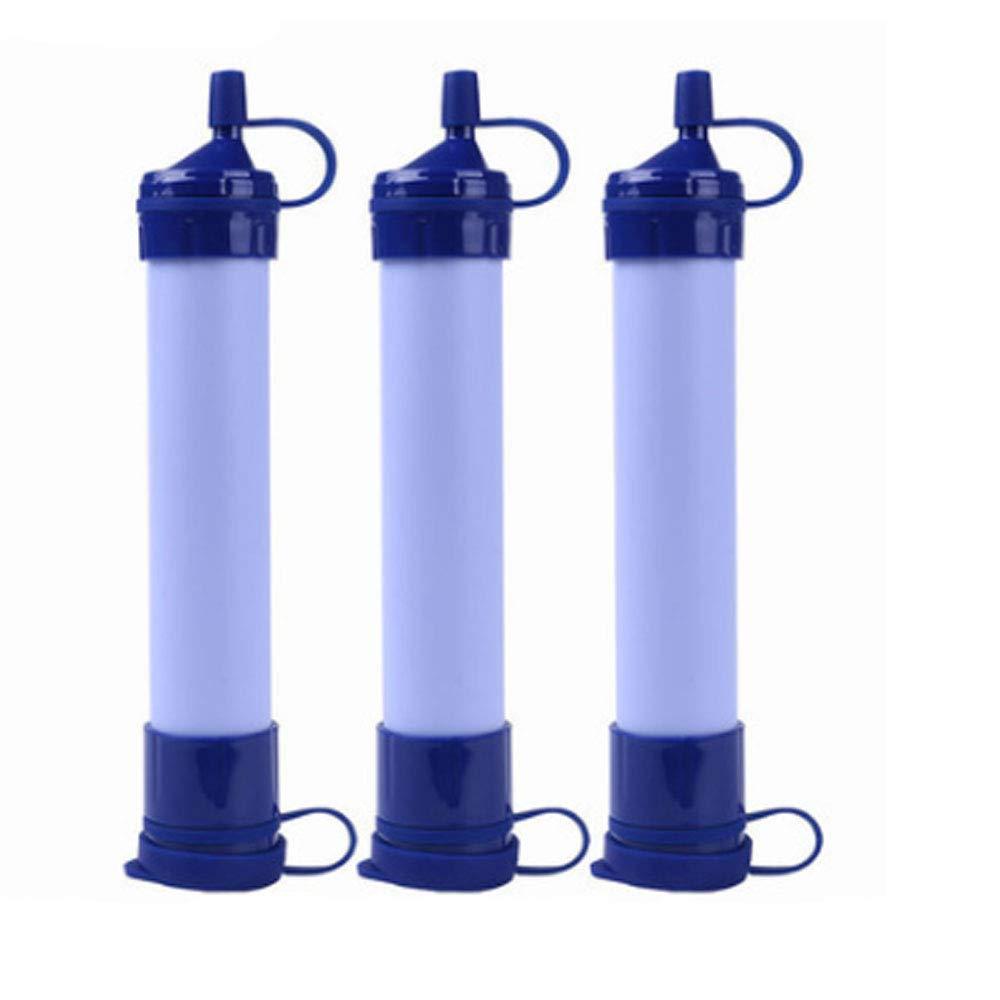 HMJZ Filter-Sterilisationsreinigungssicherheits-Umweltschutzgerät des Feldwasserfilterstrohs im Freien tragbares Notfall Gear Wasser Filter Tragbare Reinigung Filtration System Survival 3