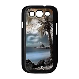 Coconut tree DIY Cover Case with Hard Shell Protection for Samsung Galaxy S3 I9300 Case lxa#487532