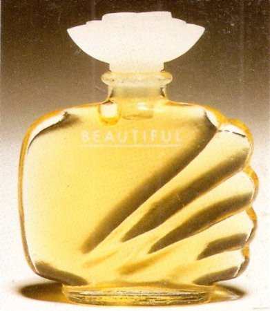 BEAUTIFUL Perfume by Estee Lauder Miniature (.12 oz./4ml) UNBOXED 0.12 Ounce Parfum Miniature
